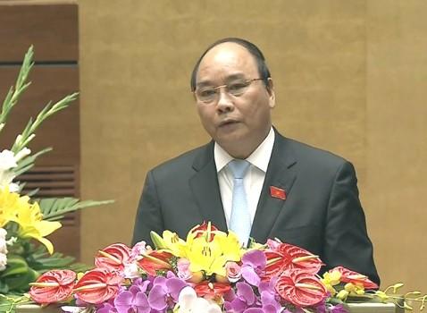 Phó Thủ tướng trình bày Báo cáo Chính phủ ảnh 1