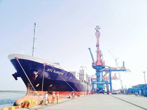Lợi thế CP cảng biển ảnh 1