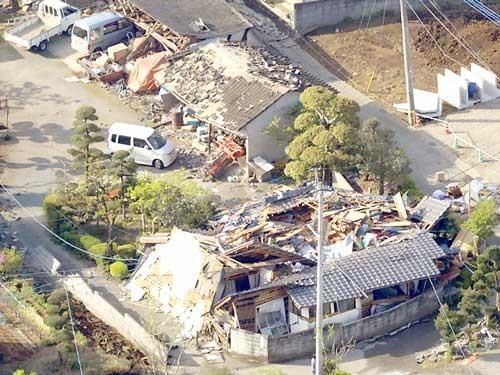 Động đất Nhật Bản: 9 người thiệt mạng ảnh 1