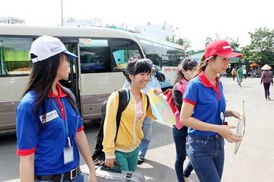 TPHCM: Tặng 10.000 bản đồ xe buýt cho sinh viên ảnh 1