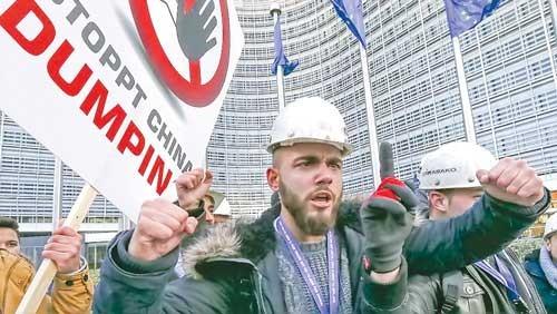 Châu Âu đánh thép Trung Quốc ảnh 1