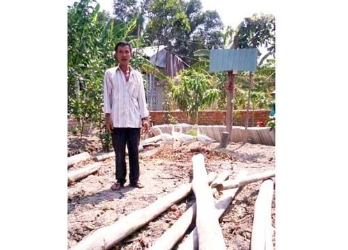 Chủ khu đất kêu cứu bị xử lý hình sự vì… xây chòi nuôi vịt! ảnh 1