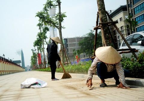 Hà Nội: Cận cảnh tuyến đường kiểu mẫu trước khánh thành ảnh 2
