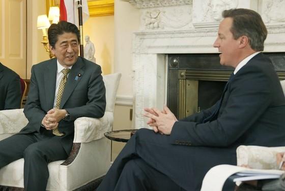 Thủ tướng Nhật kêu gọi Anh ở lại EU ảnh 1
