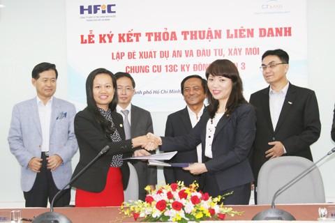C.T Land và HFIC ký thỏa thuận hợp tác chiến lược ảnh 1