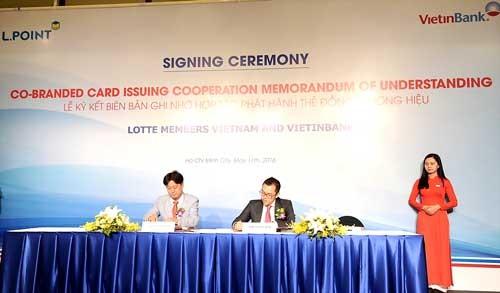 VietinBank liên kết với Lotte Members Việt Nam ảnh 1