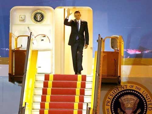 Tổng thống Hoa Kỳ B. Obama đã đến Việt Nam ảnh 1
