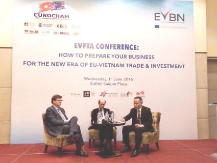 DN chủ động nắm bắt cơ hội từ EVFTA ảnh 1
