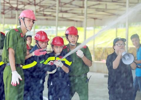 Trại hè lính cứu hỏa nhí - 2016 ảnh 6
