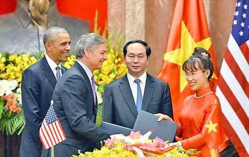 Những dấu ấn Vietjet trong chuyến thăm Việt Nam của Tổng thống Hoa Kỳ Barack Obama ảnh 1