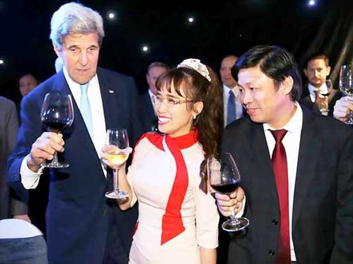 Những dấu ấn VietJet trong chuyến thăm Việt Nam của Tổng thống Hoa Kỳ Barack Obama ảnh 14