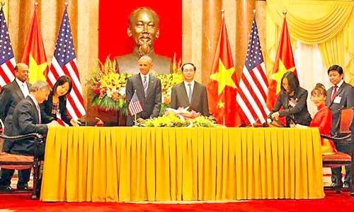 Những dấu ấn VietJet trong chuyến thăm Việt Nam của Tổng thống Hoa Kỳ Barack Obama ảnh 2