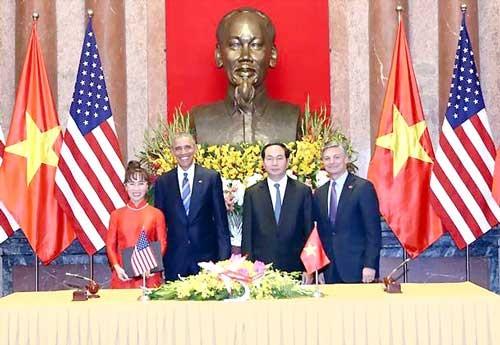 Những dấu ấn VietJet trong chuyến thăm Việt Nam của Tổng thống Hoa Kỳ Barack Obama ảnh 4