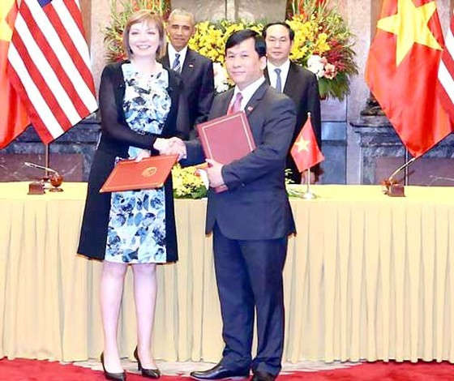Những dấu ấn Vietjet trong chuyến thăm Việt Nam của Tổng thống Hoa Kỳ Barack Obama ảnh 6