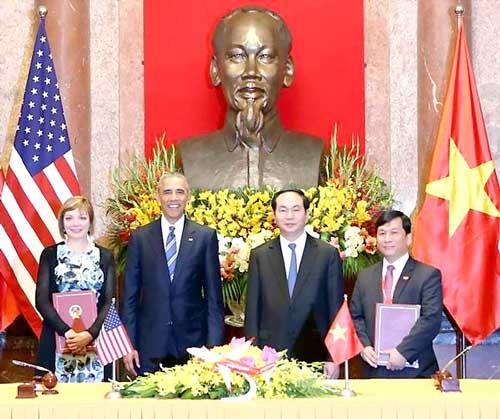 Những dấu ấn VietJet trong chuyến thăm Việt Nam của Tổng thống Hoa Kỳ Barack Obama ảnh 7