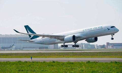 Cathay Pacific Airways chính thức khai thác A350 XWB ảnh 1