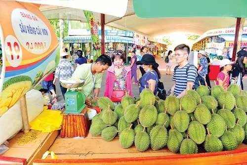 Lễ hội trái cây Nam bộ ảnh 2