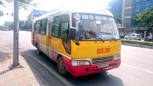 Xe buýt giả lộng hành trên đường phố ảnh 1