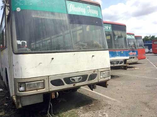 200 ôtô Phương Trang bị ngân hàng 'giam' ảnh 1
