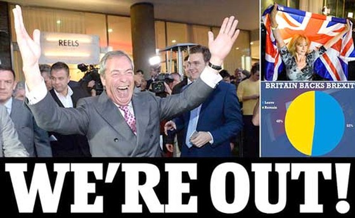 Anh trở thành quốc gia đầu tiên rời khỏi EU ảnh 2