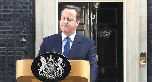 Thủ tướng Anh tuyên bố từ chức ảnh 1