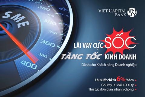 Viet Capital Bank tăng tốc kinh doanh lãi vay cực sốc ảnh 1