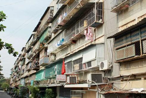 Hà Nội chuẩn bị kế hoạch cải tạo chung cư cũ ảnh 1