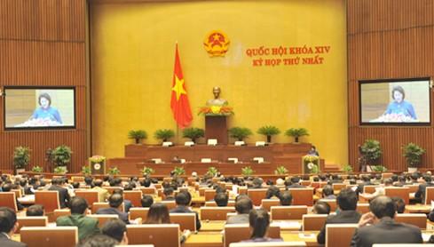 Khai mạc Kỳ họp thứ nhất Quốc hội khóa XIV ảnh 1