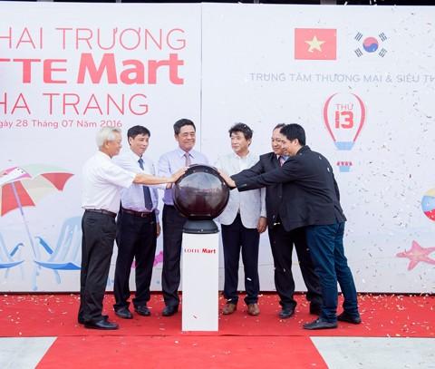Khai trương TTTM Lotte Mart Nha Trang ảnh 1
