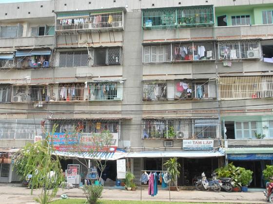Hàng chục nhà đầu tư cải tạo chung cư cũ ảnh 1