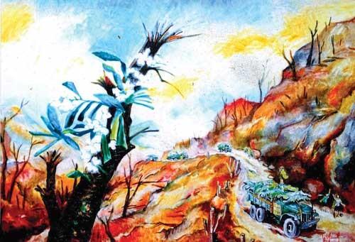 Trường Sơn qua góc nhìn hội họa ảnh 1