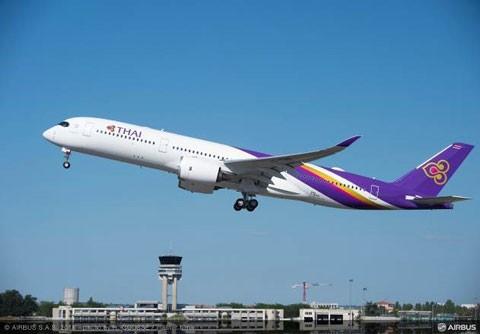 Thai Airways đưa vào khai thác máy bay A350 XWB ảnh 1