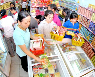 Sức mua tại nhiều siêu thị tăng 30-100% ảnh 1