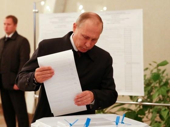 Sơ bộ bầu cử Nga: Đảng cầm quyền chiếm ưu thế ảnh 1
