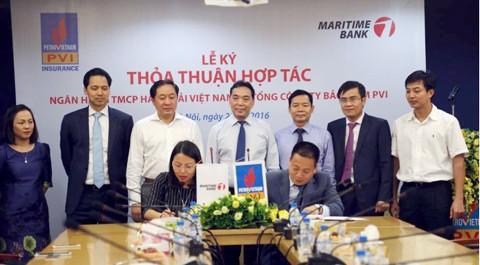 Maritime Bank và PVI ký hợp tác toàn diện ảnh 1
