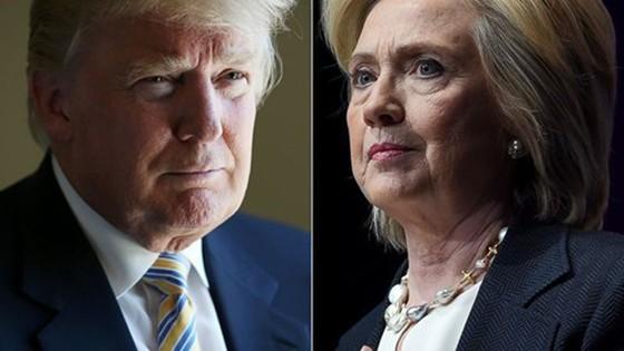 Bà Clinton dẫn trước ông Trump tỷ lệ ủng hộ ở 5 bang ảnh 1