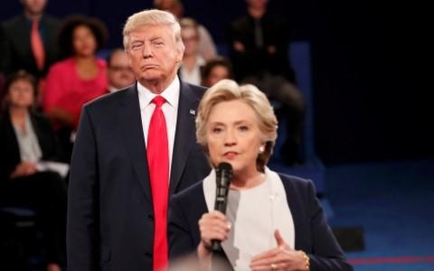"""""""So găng"""" lần 2: Trump có thắng Clinton? ảnh 1"""