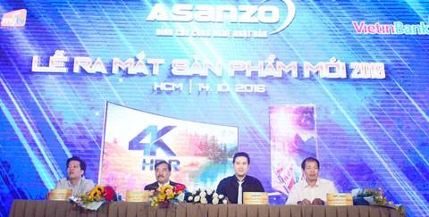 Asanzo ra mắt sản phẩm tivi mới ảnh 1
