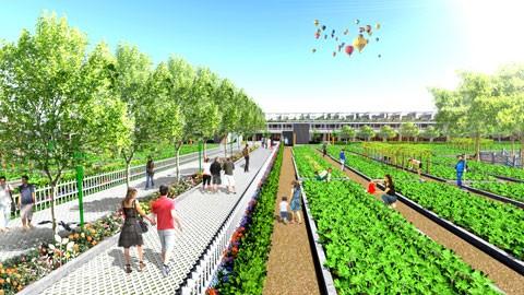 Dự án Nhà phố vườn ven sông SaiGon Village ảnh 1