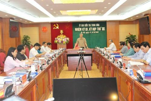 Nguyên Bộ trưởng Vũ Huy Hoàng bị đề nghị cảnh cáo ảnh 1