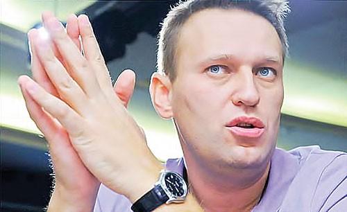 Alexei Navalny ngã ngựa ảnh 1