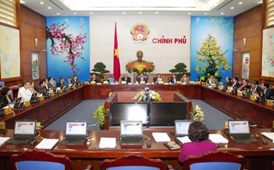 Chính phủ họp phiên thường kỳ tháng 2-2013 ảnh 1