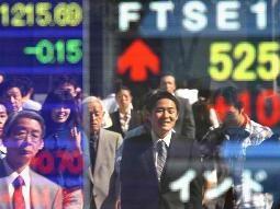 CK châu Á 25-4: Nikkei xanh hóa ảnh 1