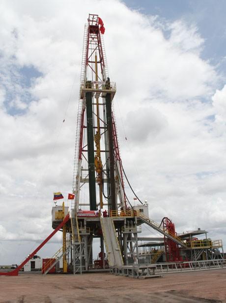 PVN khoan giếng dầu đầu tiên ở Venezuela ảnh 1