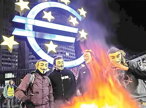 Thế giới 5 năm khủng hoảng tài chính ảnh 2