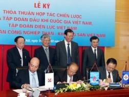 PVN, EVN, TKV thỏa thuận hợp tác chiến lược ảnh 1