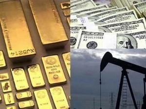 Giá dầu và vàng thế giới tiếp tục giảm ảnh 1