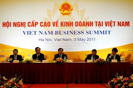 Hội nghị Cấp cao về kinh doanh tại Việt Nam ảnh 1