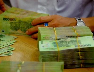 Vốn huy động ngân hàng tăng trưởng âm ảnh 1