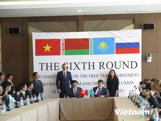 Việt Nam-Liên minh Hải quan kết thúc vòng 6 đàm phán FTA ảnh 1